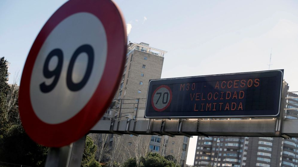 Foto: El Ayuntamiento de Madrid ha activado el protocolo anticontaminación. (EFE)