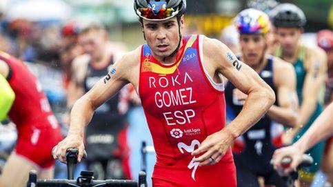 Gómez Noya regresa a lo grande: segundo en Bermudas tras su aventura en el Ironman