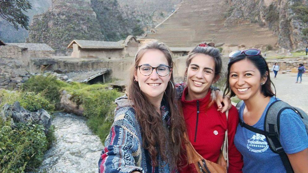Foto: A la derecha, Nathaly Salazar, española desaparecida en Cuzco desde el 2 de enero. (Imagen cedida)