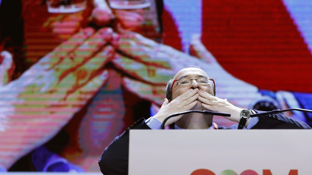 Iceta, reelegido como líder del PSC, apela al diálogo en Cataluña en plena guerra de barones