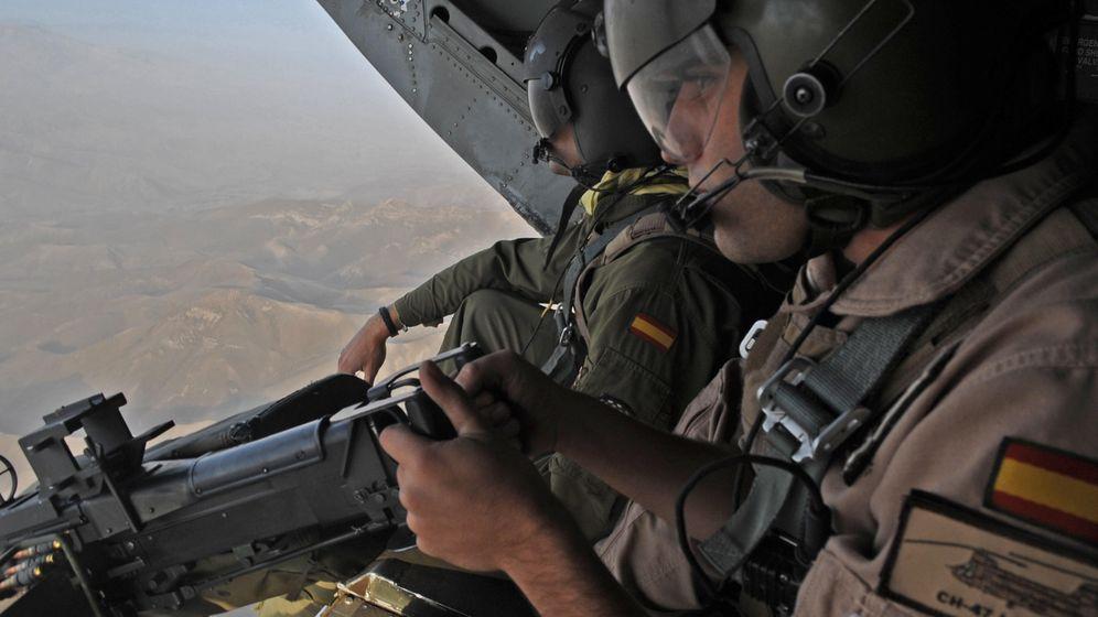 Foto: Soldados españoles en Afganistán.