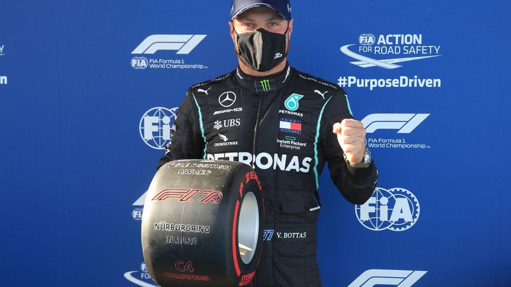 Foto: Bottas logró su 14º pole de su carrera. (Reuters)