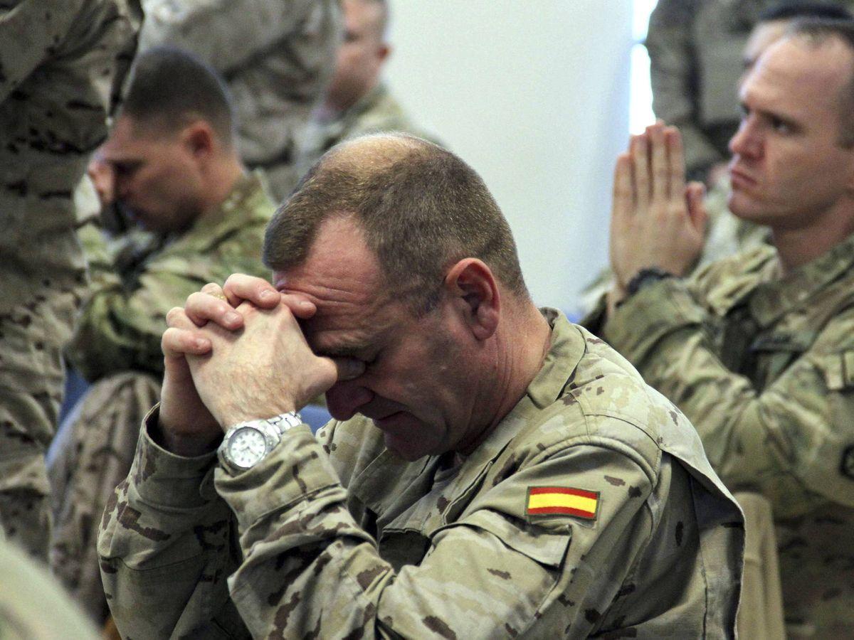 Foto: Soldados del Ejército español en Afganistán. (EFE)