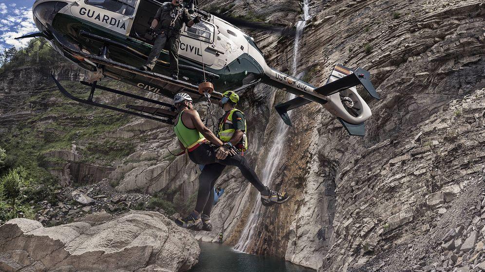 Foto: Imagen de un rescate