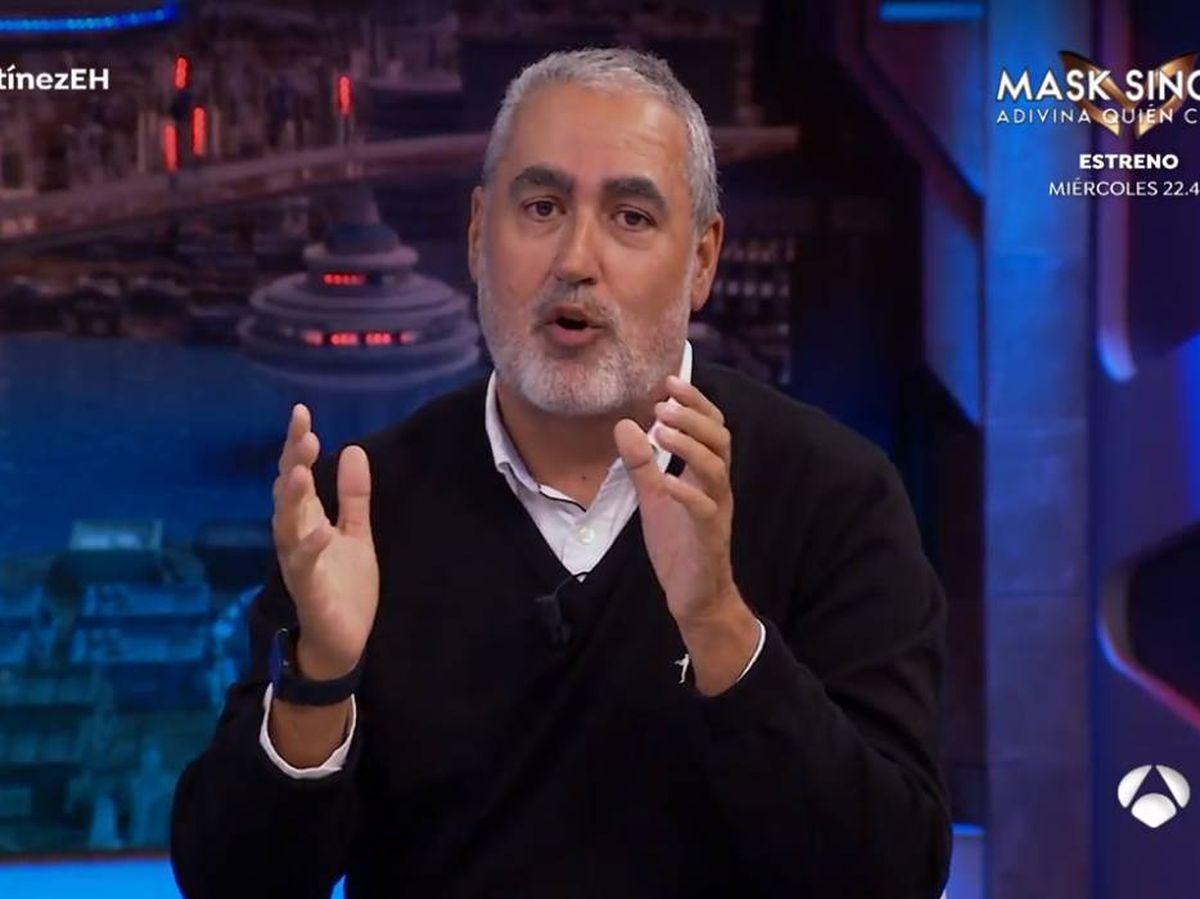 Foto: Jorge Salvador, director y productor ejecutivo de 'El hormiguero'. (Atresmedia)
