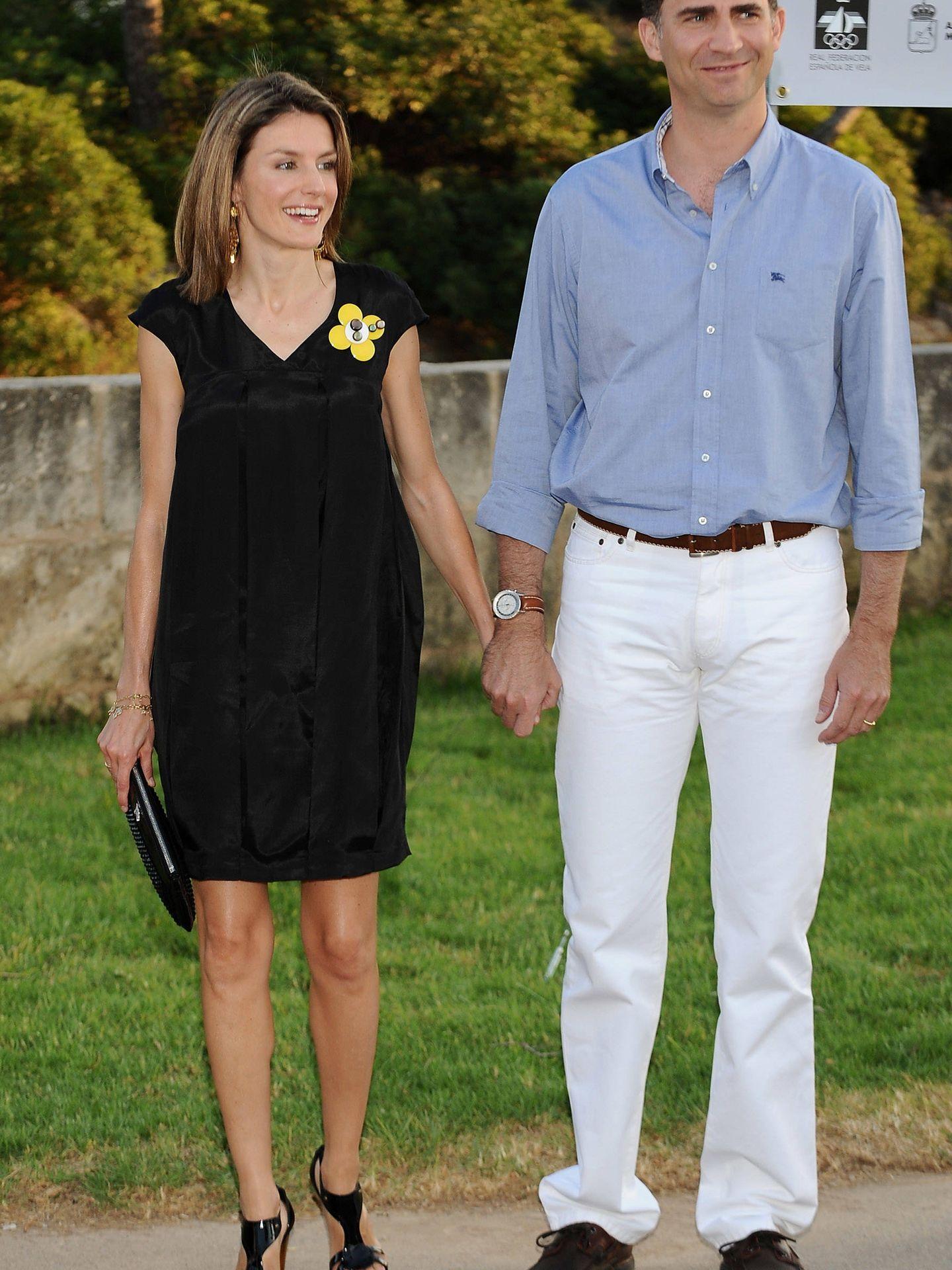 Don Felipe y doña Letizia en Mallorca. (Getty)