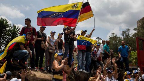 Manifestación a favor de Leopoldo López