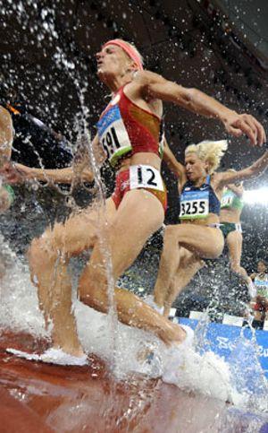 Marta, por los suelos cuando luchaba por las medallas