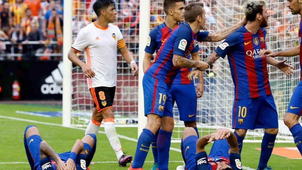 Competición fustiga a los jugadores del Barcelona: Su actitud les ridiculiza