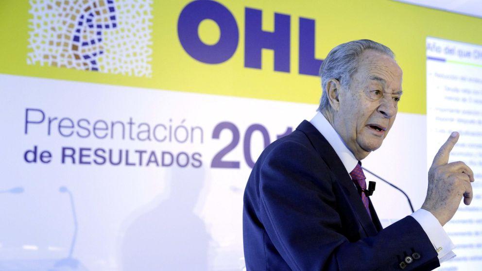 Villar Mir se pliega a la banca:  rebaja de más del 25% en la ampliación  de OHL