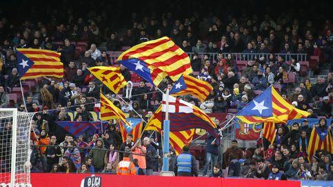 El Camp Nou gritó 'independencia', pero las esteladas se quedaron en casa