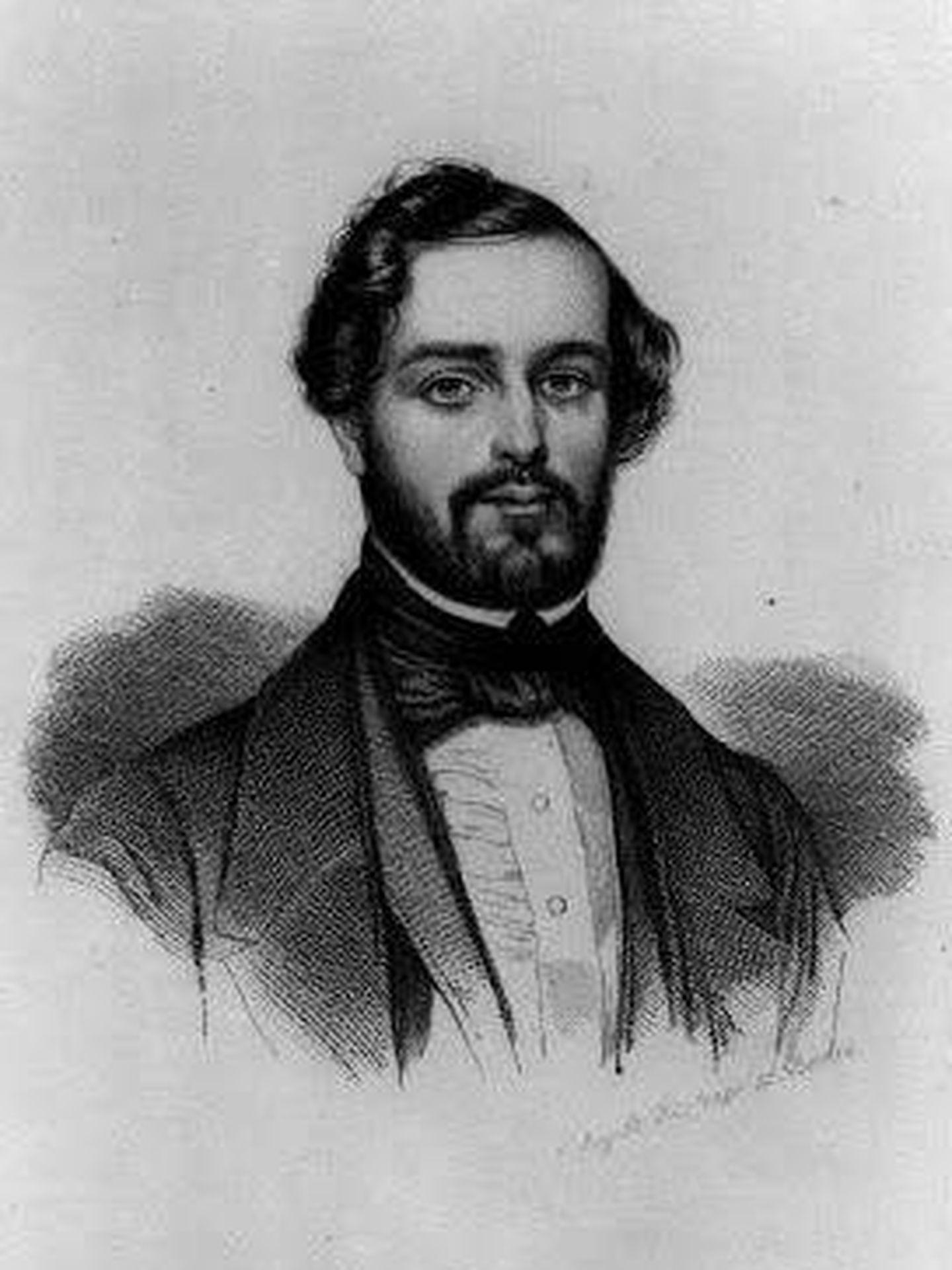 Retrato de Ignacio Gurowski. (Dominio público)