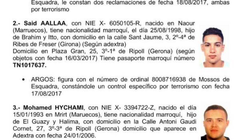 La policía peina Cataluña en busca de 1 fugitivo relacionado con los atentados