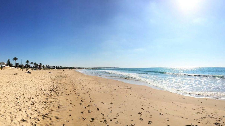 La playa de la Barrosa, otro paraíso en Cádiz. (Foto: David Ibáñez Montañez/Patronato Provincial de Turismo de Cádiz)