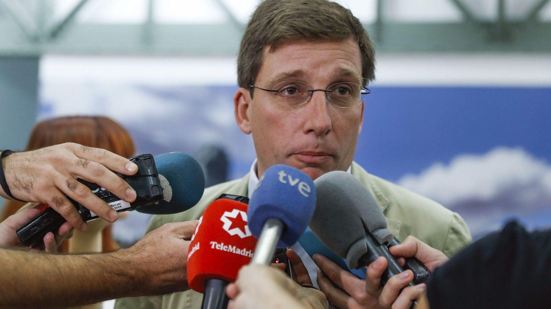El portavoz del PP en el Ayuntamiento de Madrid, José Luis Martínez Almeida. (EFE)