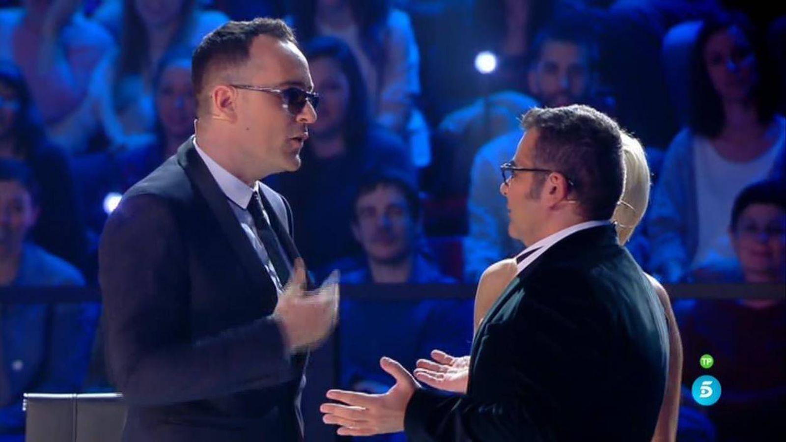 Foto: Risto, enfrentando a todos en 'Got Talent España'.