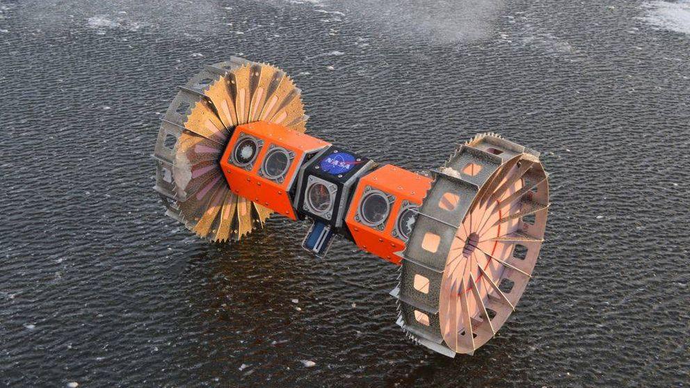 La NASA mandará un robot a explorar una luna helada de Jupiter en 2025