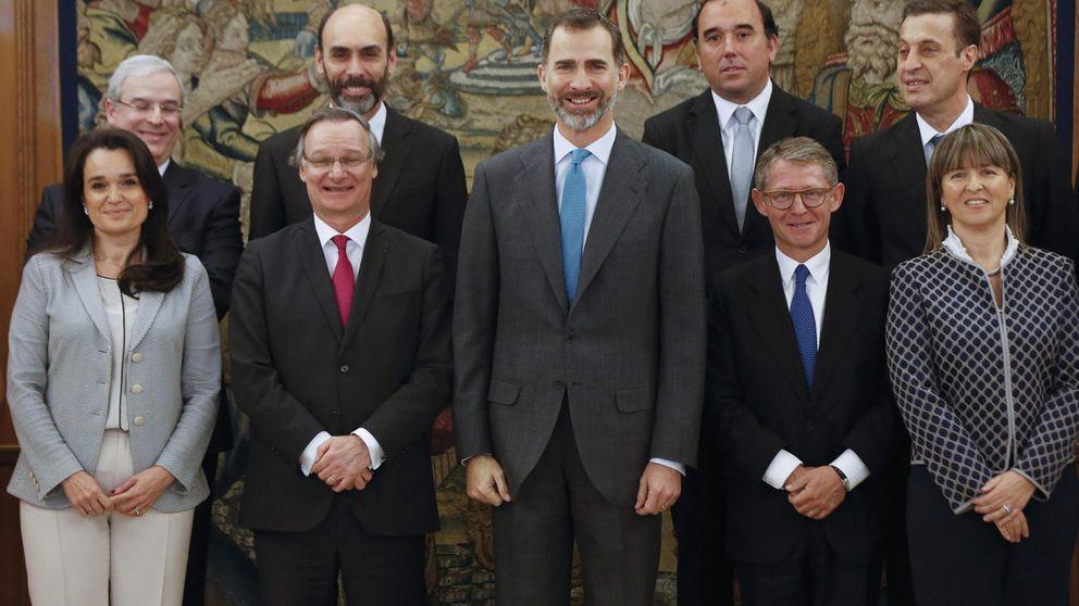 El Rey conmemora los 50 años de la consultora Accenture en España