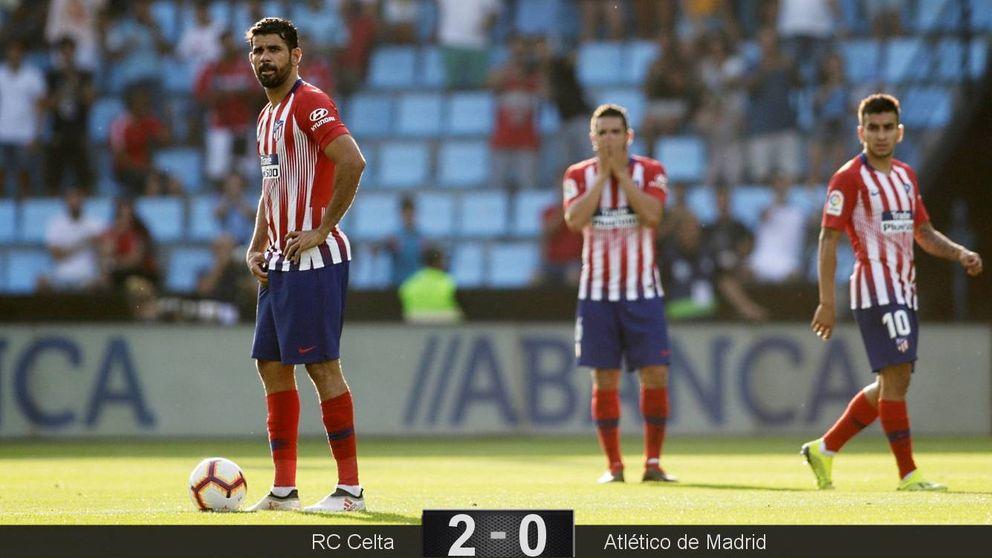 De tanto mirar al ataque al Atlético del Cholo se le descompuso la defensa