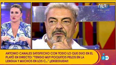 Carlota Corredera remata a Canales: Sálvame' no ha parado desde 2009