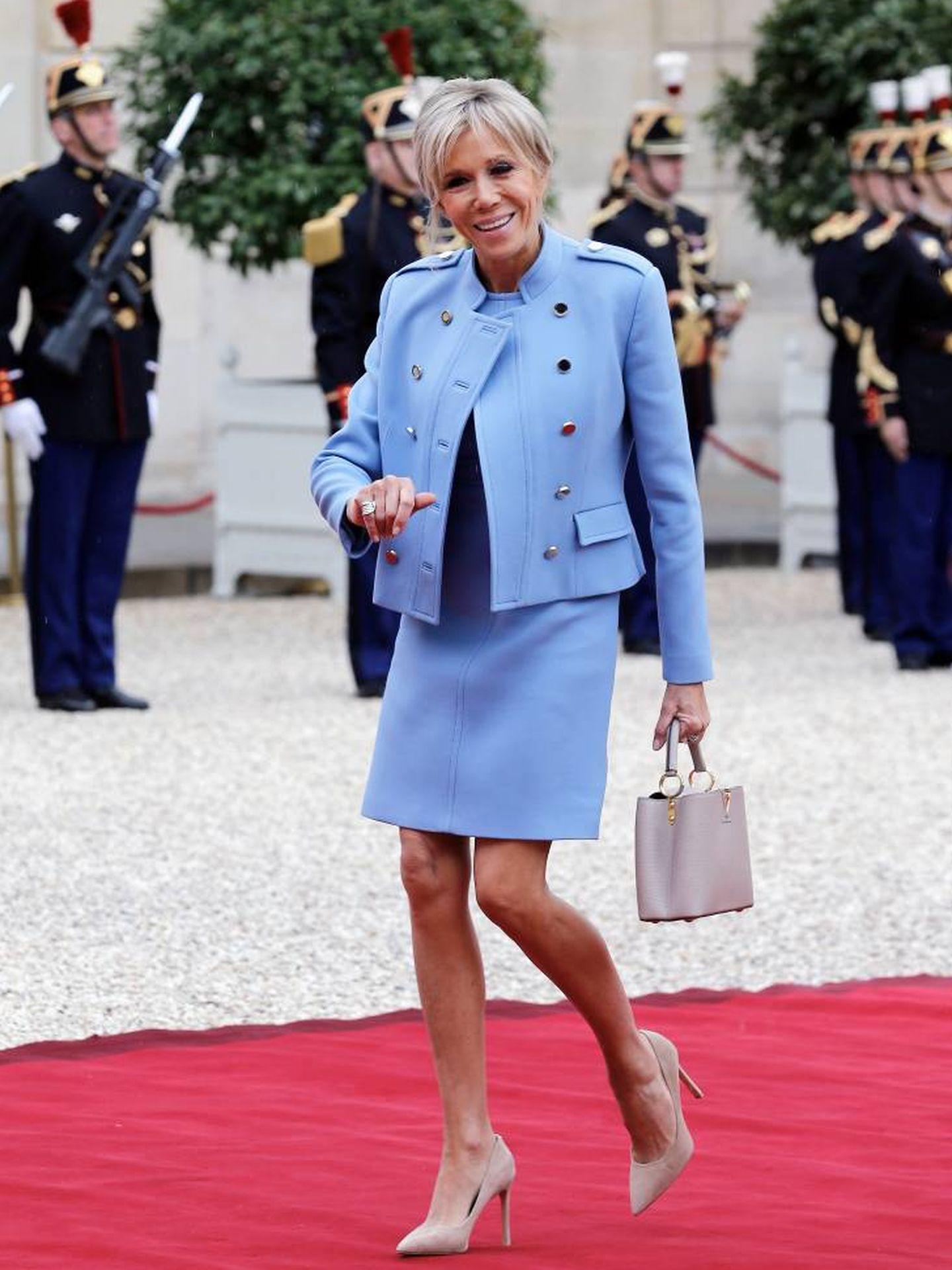 Brigitte Macron. (Getty)