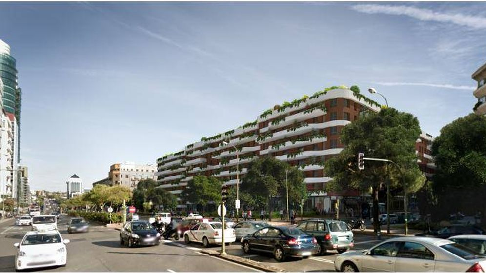Foto: Infografía de las futuras viviendas en Raimundo Fernández Villaverde.