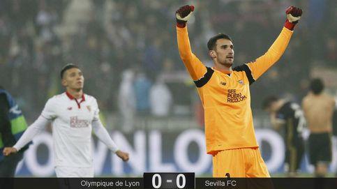 El Sevilla no será este año campeón de la Europa League: sigue en Champions