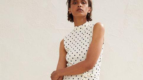 Atención invitadas: H&M tiene un espectacular vestido de lunares digno de royal