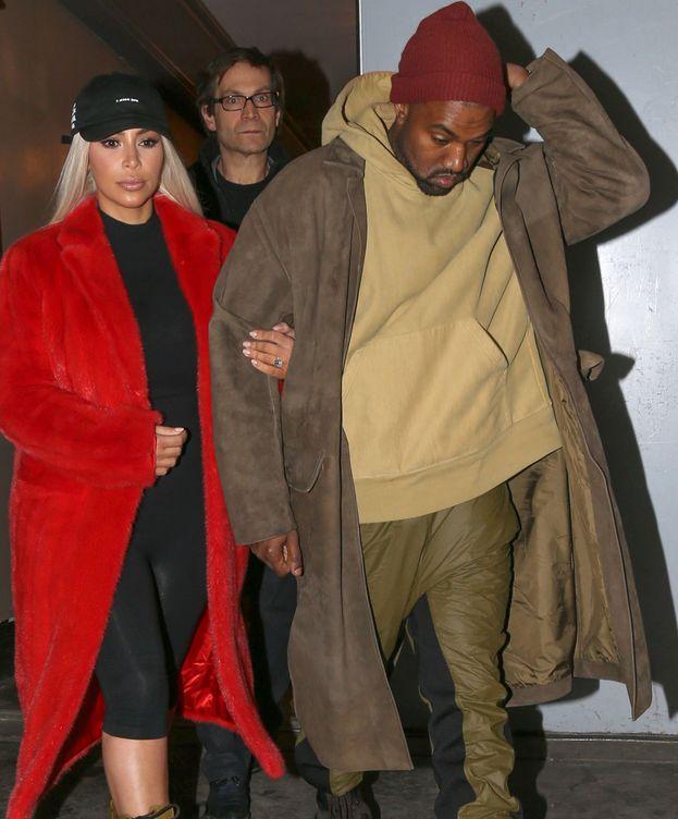 Foto: Kanye West y Kim Kardashian en una imagen de archivo (Gtres)