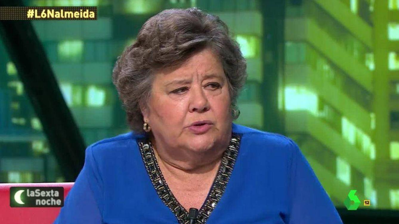 'La Sexta noche'   Cristina Almeida, en la diana de las redes por criticar a Ayuso y el hospital de Ifema después de defender la manifestación del 8