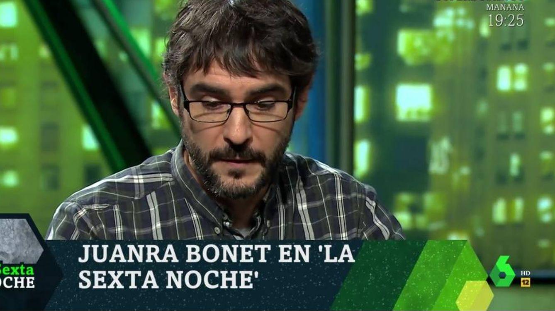 'La Sexta noche'   Juanra Bonet ('¡Boom!'), abatido al recordar la muerte de José Pinto