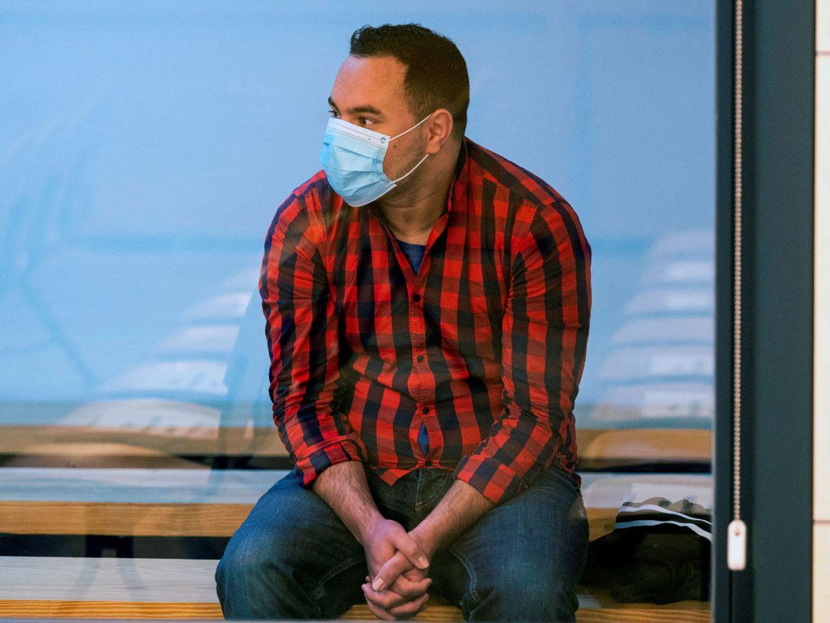 Foto: Said Ben Iazza, uno de los tres acusados por los atentados perpetrados el 17 de agosto de 2017 en Barcelona y Cambrils. (Reuters)