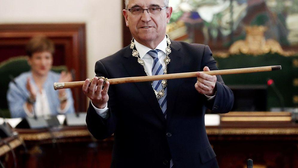 Foto: Enrique Maya, alcalde de Pamplona, es la principal víctima de este hackeo. (EFE)