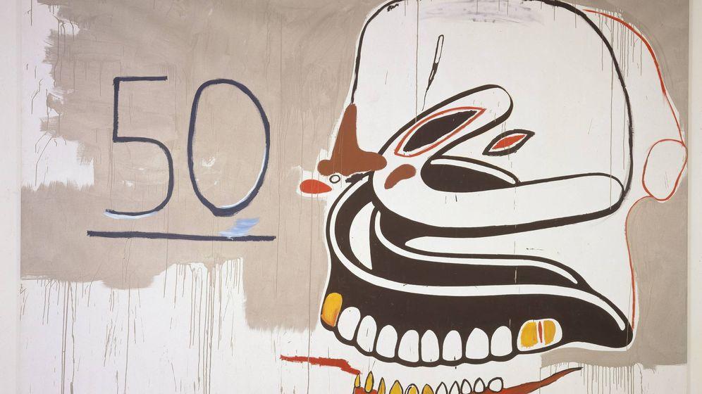 Foto: La obra 50-Dentures firmada por Andy Warhol (EFE)