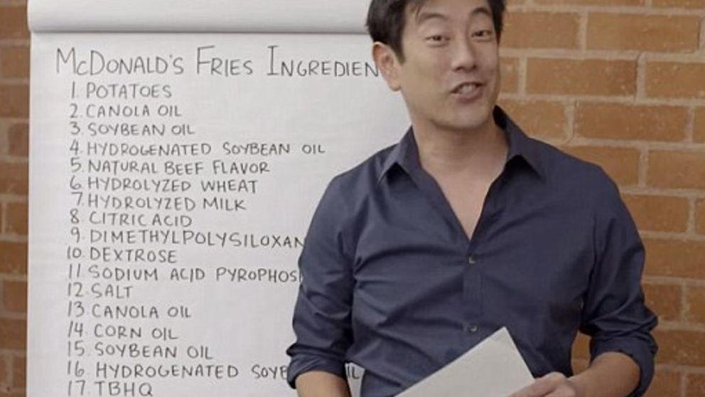 Descubierta la receta de las irresistibles patatas de McDonald's