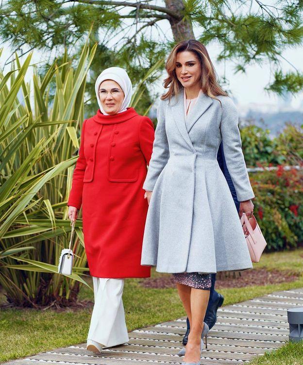 Foto:  Emine Erdogan y Rania de Jordania. (Instagram)