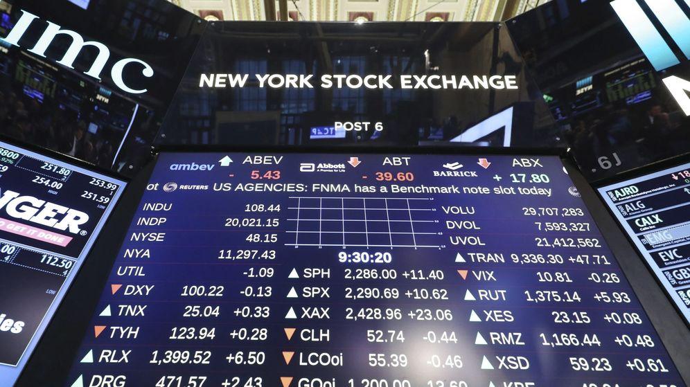 Foto: El Dow Jones de Industriales toca por primera vez los 20.000 puntos. (EFE)