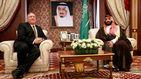 Bin Salman alerta de la subida del precio del crudo si no se actúa contra Irán