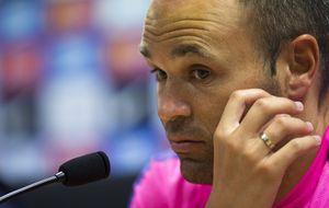 Iniesta quiere volver a las victorias: Hay que disfrutar como equipo