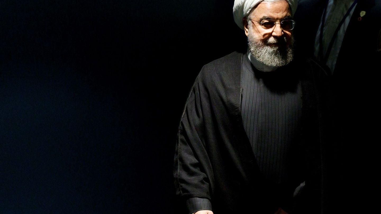 El presidente de Irán, Hassan Rohaní, a su llegada al debate de la 74 sesión de la Asamblea General de las Naciones Unidas. (EFE)