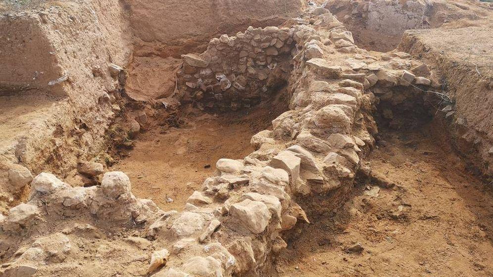 Foto: Encuentran los restos de un poblado que conquistó el Cid y que se creía inventado. (Diputación de Zaragoza)