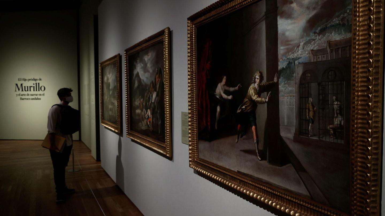 Vista del cuadro 'La castidad de José', de Antonio del Castillo. (EFE)