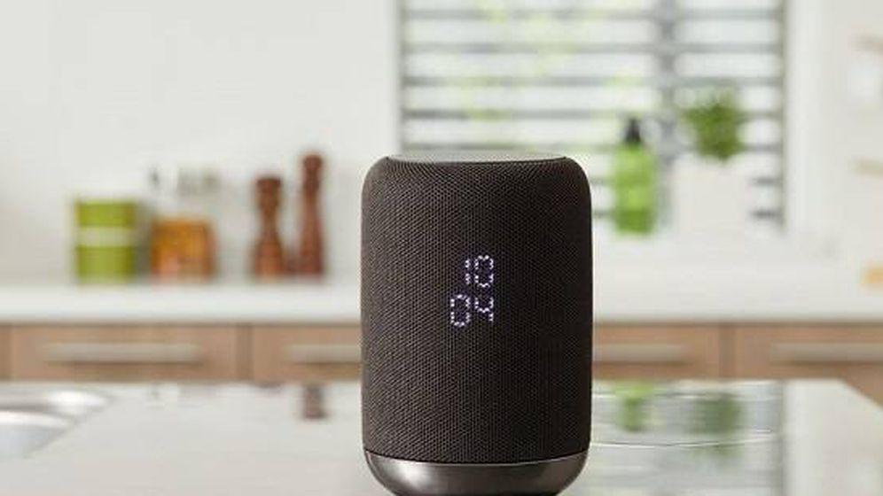Foto: El altavoz inteligente de Sony con Google Now, uno de los últimos en llegar (EC)