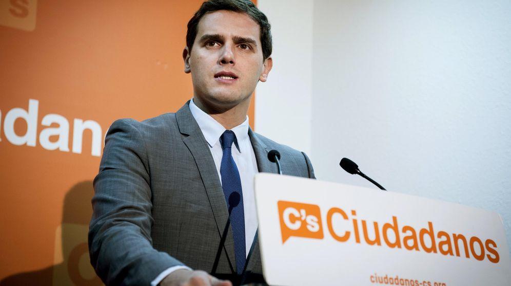 Foto: El candidato de Ciudadanos a la Presidencia del Gobierno, Albert Rivera. (Efe)