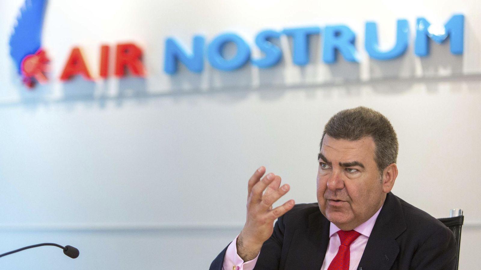 Foto: El presidente de Air Nostrum, Carlos Bertomeu. (EFE)
