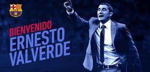 Post de Ernesto Valverde, nuevo entrenador del Barcelona para los dos próximos años