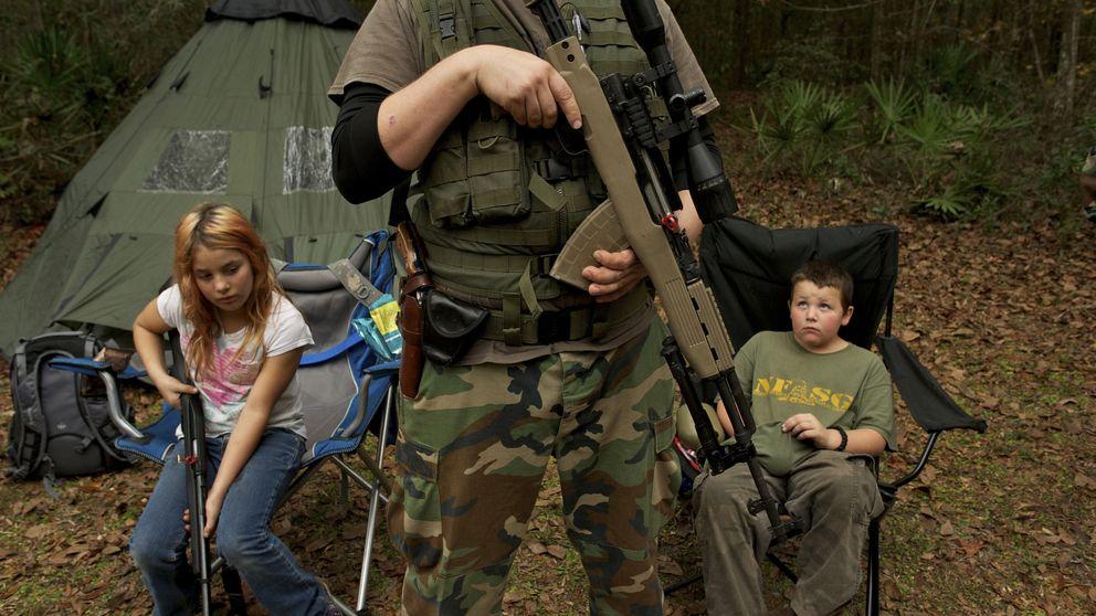 Las milicias extremistas que quieren derrocar al Gobierno de EEUU