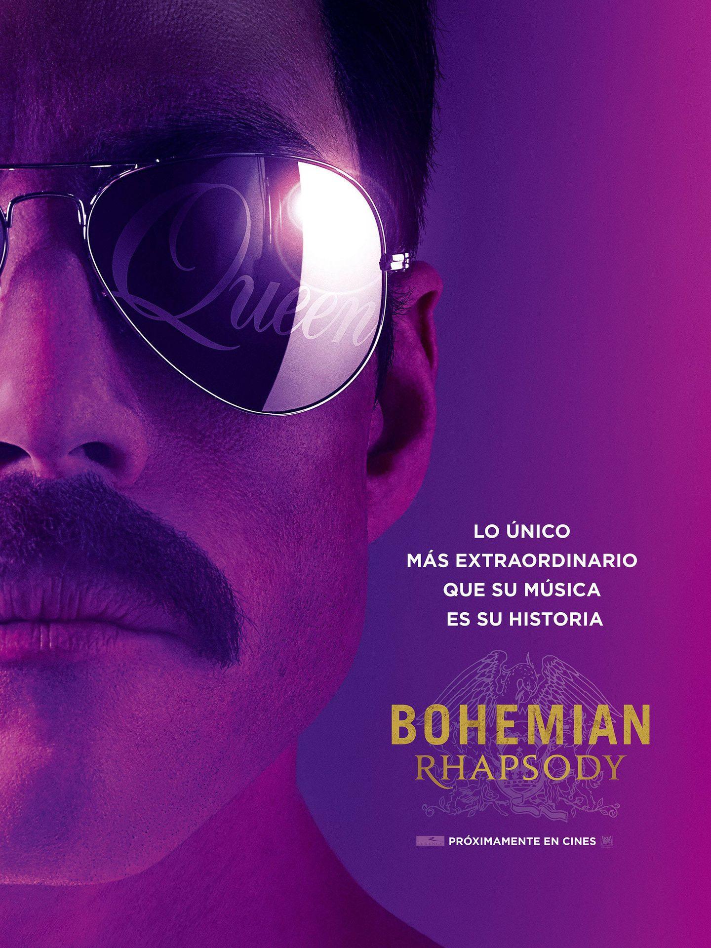 Cartel de 'Bohemian Rhapsody'.