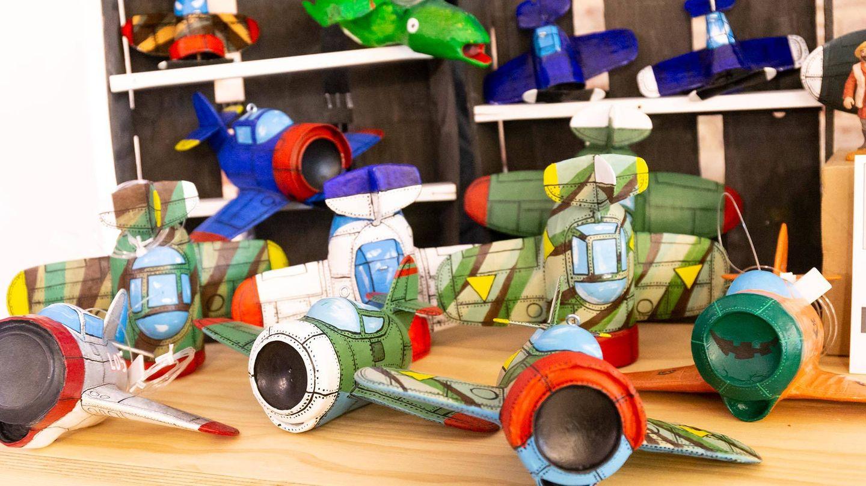 En el Recycling Market encontrarás regalos diferentes. (Cortesía)