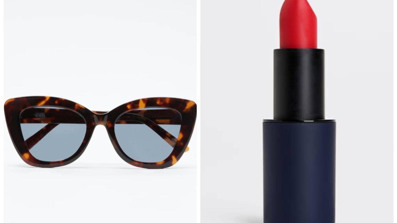 Accesorios con inspiración Hollywood en Zara. (Cortesía)